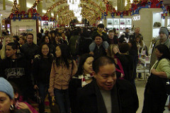 Main Aisle, Macy's 1st Floor, Black Friday